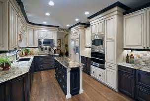 kitchen cabinets different colors repainting kitchen cabinets two tone cabinet colors great