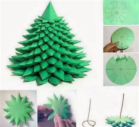 paper craft tree diy layered paper tree free template