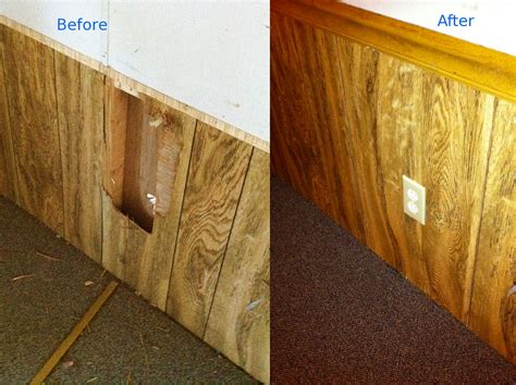 repairing a in paneling the frugal landlord