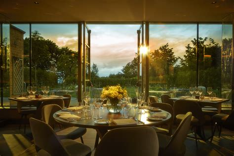 Black Dining Room Table dormy house hotel the cotswolds review eat the midlands