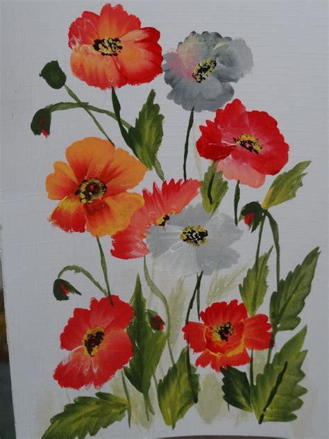 one stroke flowers painting one stroke painting creativity corner