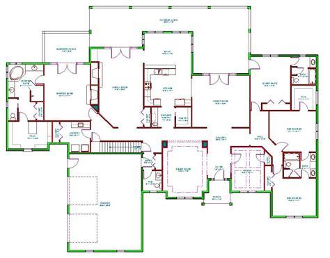 split floor plan split ranch floor plans find house plans