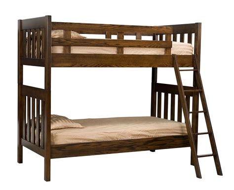 amish bunk beds amish mission bunk bed by dutchcrafters amish