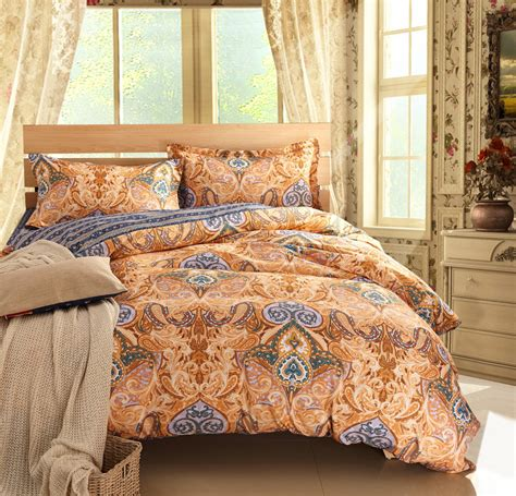 paisley bed sets luxury comforter sets paisley bed linen brown bedding sets