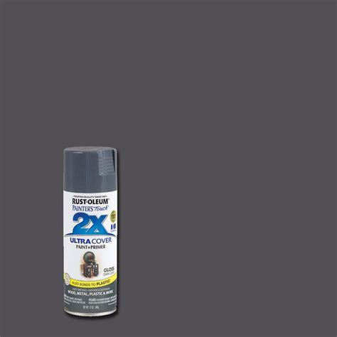 spray paint what of paint rust oleum painter s touch 2x 12 oz gloss gray