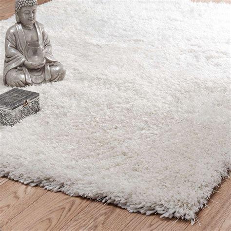 tapis 224 poils longs 233 cru 200 x 300 cm polaire maisons du monde
