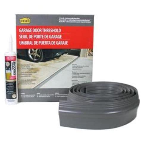garage door kits home depot m d building products 10 ft gray garage door threshold