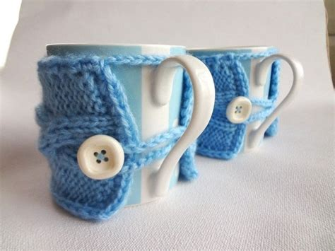 mug knitted warmer knitted mug warmer 183 a mug warmer 183 version by evenl