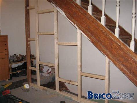 r 233 novation cloison cage d escalier