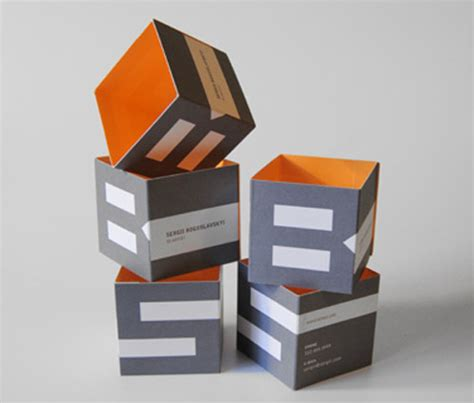 how to make a cube out of card creative business cards uses of various shapes and
