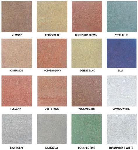 paint colors for concrete 77 best concrete stain colors images on