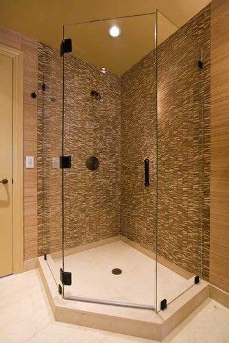 bathroom corner showers how can corner shower save space bath decors
