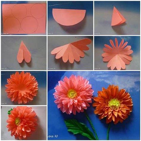 how to make paper origami flowers for diy origami flowers step by step tutorials k4 craft