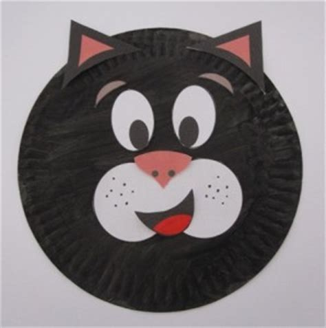 paper plate cat craft cat craft idea for crafts and worksheets for