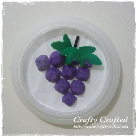 grapes craft for crafty crafted 187 archive crafts for children
