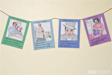 black history month arts and crafts projects diy black history month banner