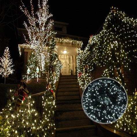 cool white lights 100m 500 led cool white wedding outdoor