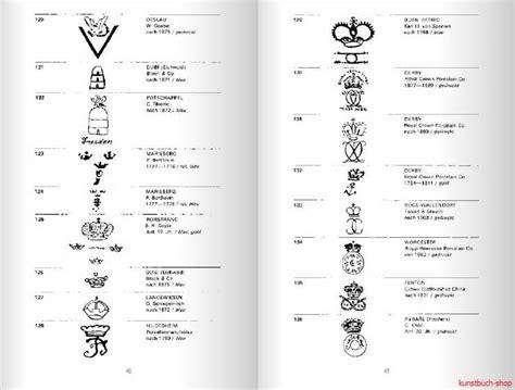 alte thüringer porzellanmarken fachbuch 2 061 porzellanmarken aus aller welt neue 18