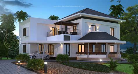new house design photos gorgeous new house model kerala home design at 3075 sqft