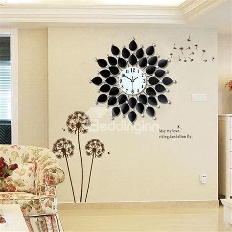 unique wall patterns modern unique black leaves pattern decorative wall