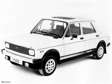 Yugo Car Wallpaper by Yugo 513 Gl Uk Spec 1983 91 Wallpapers 1280x960