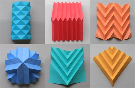 origami crafts for different paper folding techniques paper folding