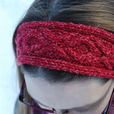 free knitted headband patterns xoxo headband a free knitting pattern the hook and i