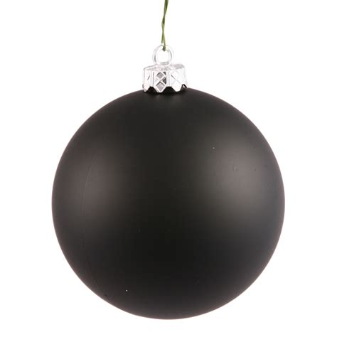 shatterproof ornament shatterproof matte jet black ornament 4