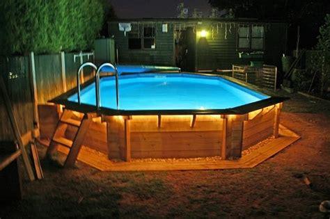 backyard pools above ground backyard swimming pool landscaping ideas of design