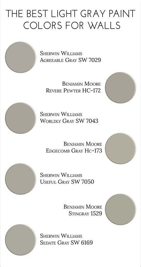 paint colors in the gray family the best light gray paint colors for walls light grey