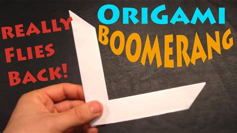 how to make a boomerang origami how to make an origami boomerang rob s world