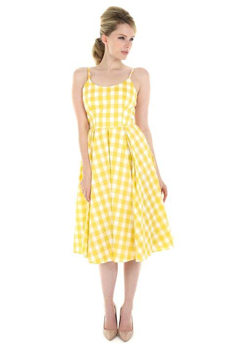 for dress the pretty dress company priscilla gingham midi dress