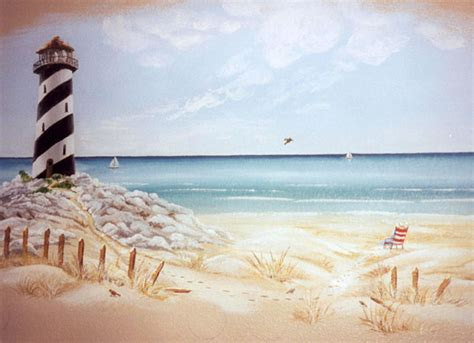 Nautical Wall Murals storied walls ocean and seaside murals gallery