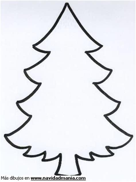 dibujos arboles navidad dibujo de silueta de arbol para colorear de navidad
