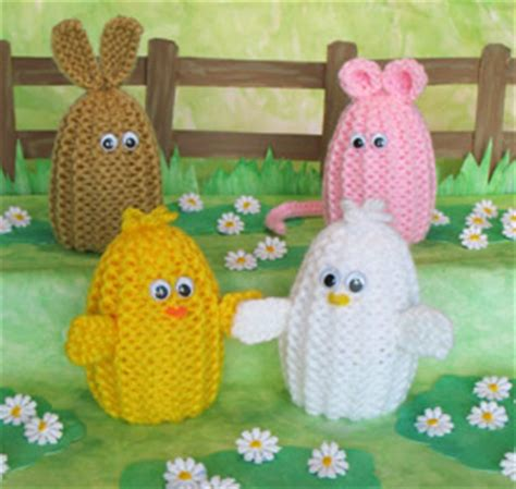 easter free knitting patterns easter egg cozies to knit and crochet free patterns
