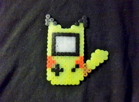 perler gameboy perler pikachu gameboy by midorifreak on deviantart