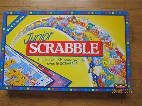 scrabble jr scrabble junior jeu 233 ducatif pour les enfants le bon