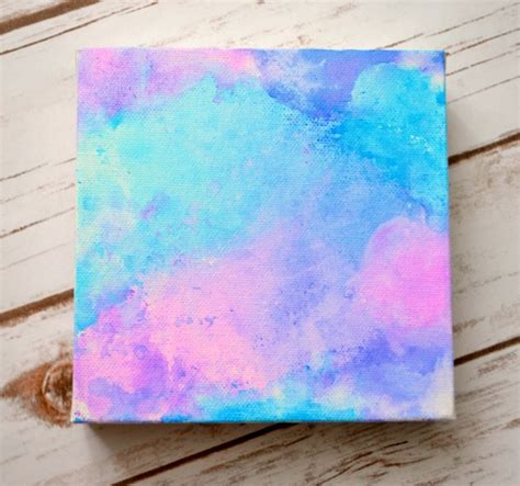 do you use acrylic paint on canvas easy lettered watercolor canvas one artsy
