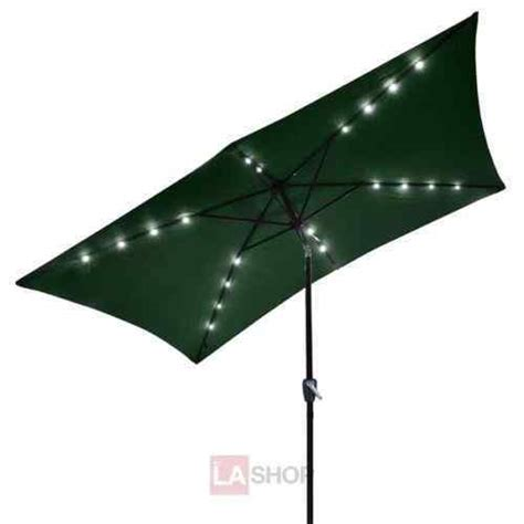 solar powered umbrella lights 10 beautiful rectangular patio umbrella with solar lights