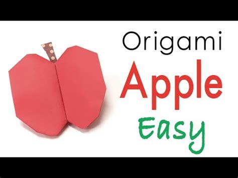 origami apple easy origami paper apple fruit origami kawaii 141