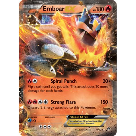 the ex pok 233 mon tcg headquarters card of the day emboar ex