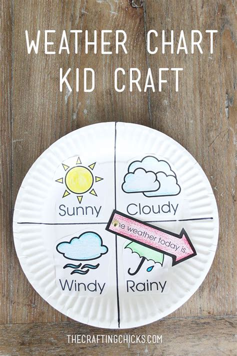weather craft for weather chart kid craft weather chart and craft