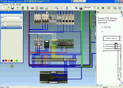 Electric Motor Simulation by Swansoft Electric Simulation Siemens Cnc Machine