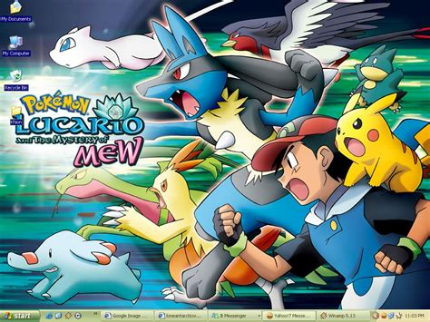 lucario and the mystery of mew lucario and the mystery of mew by loneantarcticwolf on