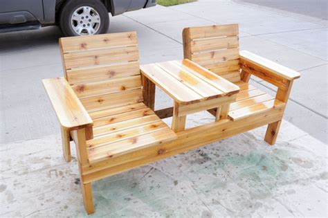 patio bench plans free patio chair plans how to build a chair bench