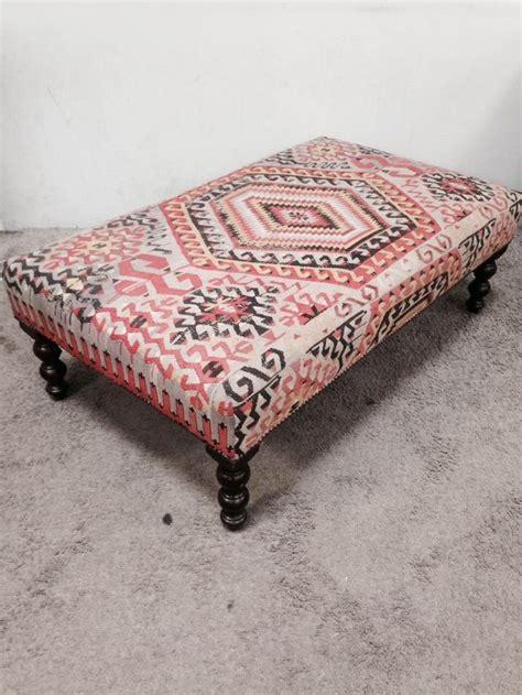 kilim upholstered ottoman best 25 kilim ottoman ideas on upholstered