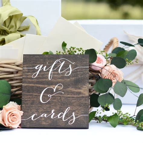 card ideas stin up gifts and cards sign wedding gift table sign gifts sign
