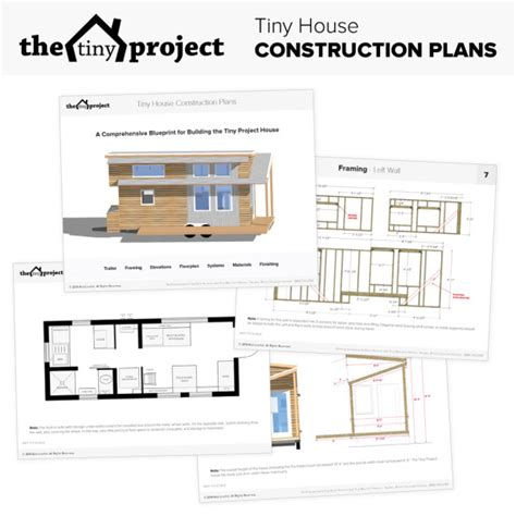 tiny house plans tiny house talk the tiny project modern tiny house plans