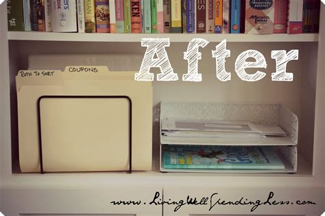 organized home office organize your home office day 11 living well spending