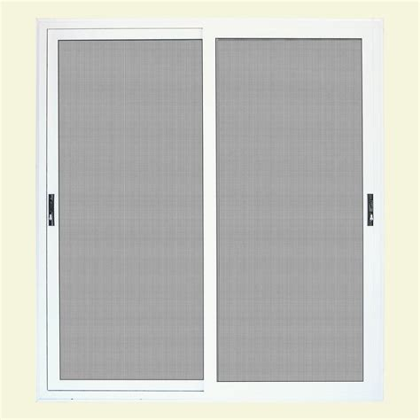 patio screen door home depot unique home designs 96 in x 80 in white surface mount